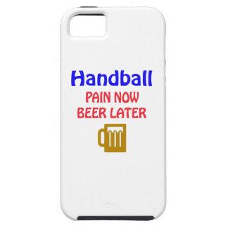 Del balonmano del dolor cerveza ahora más adelante iPhone 5 cárcasa