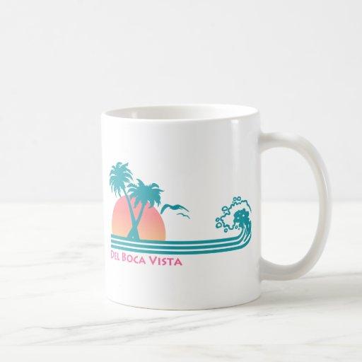 Del Boca Vista Classic White Coffee Mug