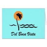 Del Boca Vista Greeting Card