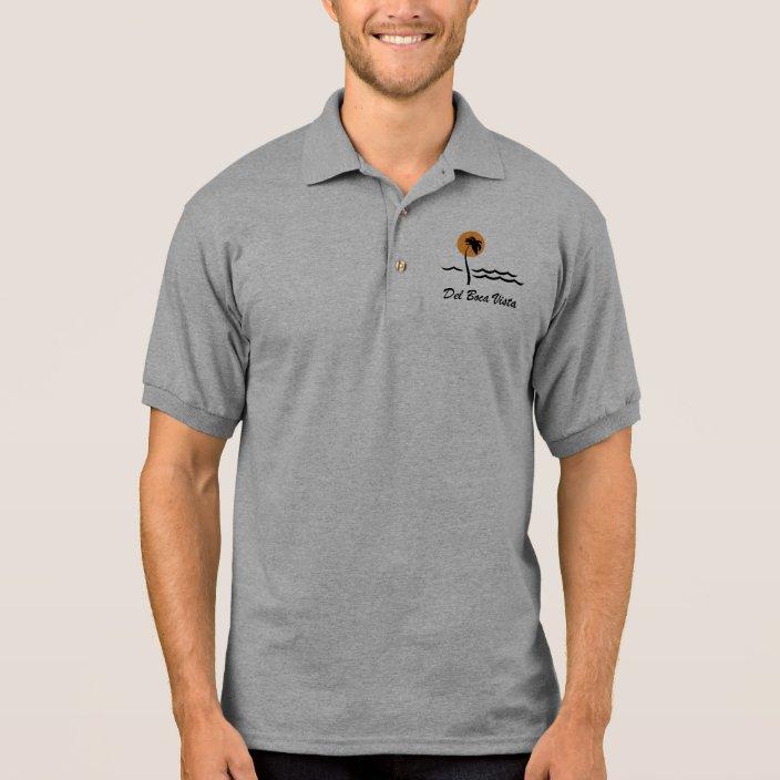 Black Del Boca Vista Shirt Funny Florida Retirement Gift T-Shirt US 100/% Cotton