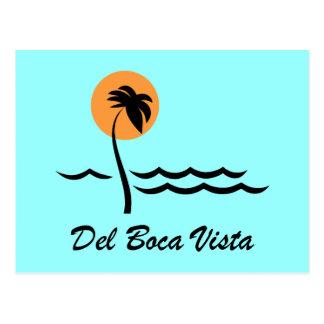 Del Boca Vista Postcard