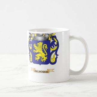 Del Bosco Coat of Arms Coffee Mugs
