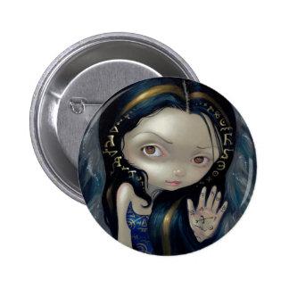 "Del ""botón ángel V alquímico"" Pin Redondo 5 Cm"