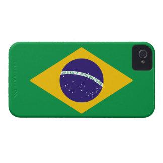 Del Brasil de la bandera caso del iPhone 4 de iPhone 4 Cárcasa