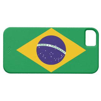 Del Brasil de la bandera caso del iPhone 5 de iPhone 5 Funda
