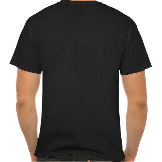 Del brillo del diseño parte posterior americana ne camisetas
