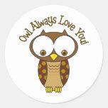 Del búho amor siempre usted etiqueta