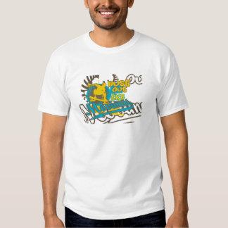Del busto camisetas y regalos del skater hacia playera