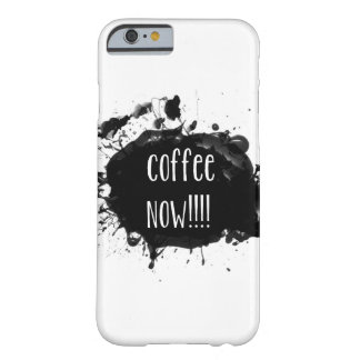 Del café cubierta del iPhone 6 ahora Funda Para iPhone 6 Barely There