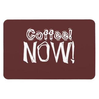 Del café jubilados ahora - imán rectangular