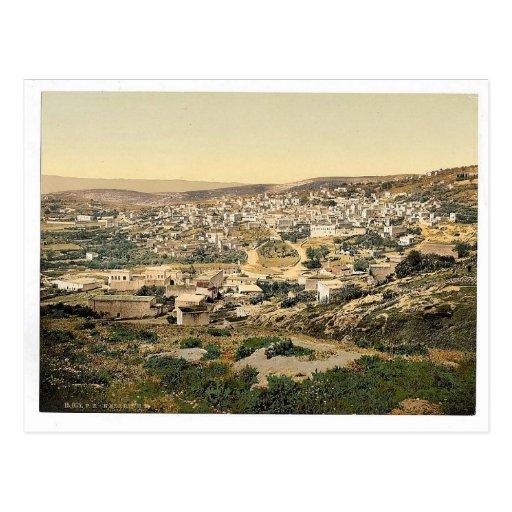 Del camino a Cana, Nazaret, Tierra Santa, (es deci Tarjetas Postales
