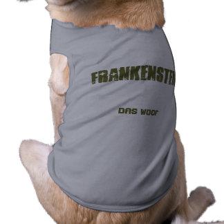 """Del """"camiseta del perrito tejido del Das"""" de Frank Playera Sin Mangas Para Perro"""