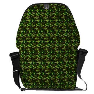 ~ del camuflaje (verde de la selva) bolsas de mensajeria