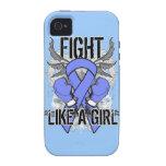 Del cáncer lucha del esófago ultra como un chica vibe iPhone 4 carcasa