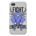 Del cáncer lucha del esófago ultra como un chica iPhone 4 cobertura
