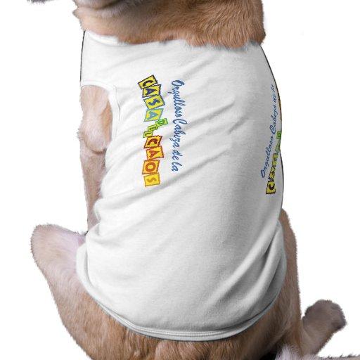 Del Caos de Cabeza de la Casa Camisas De Perritos