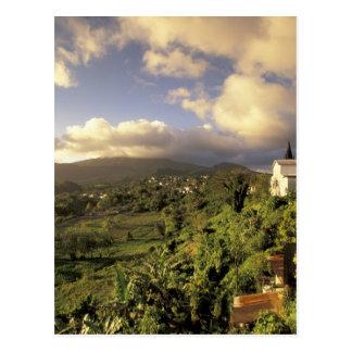 Del Caribe, francés las Antillas, Martinica Tarjetas Postales