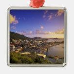 Del Caribe, francés las Antillas, San Martín. Ornato