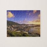 Del Caribe, francés las Antillas, San Martín. Puzzle