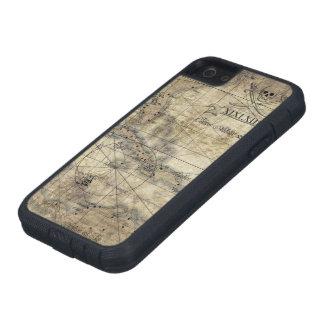 Del Caribe - mapa viejo iPhone 5 Carcasa