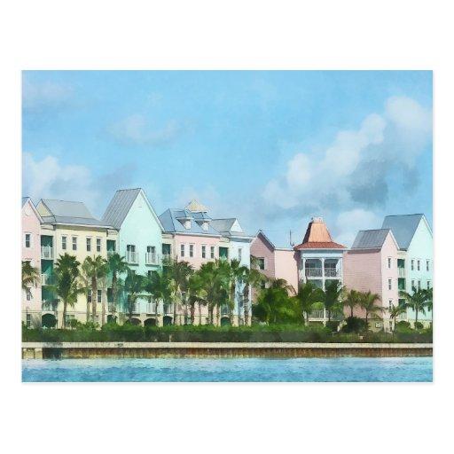 Del Caribe - salir de la isla del paraíso Postal