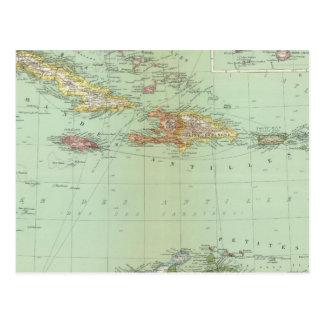 Del Caribe Tarjeta Postal
