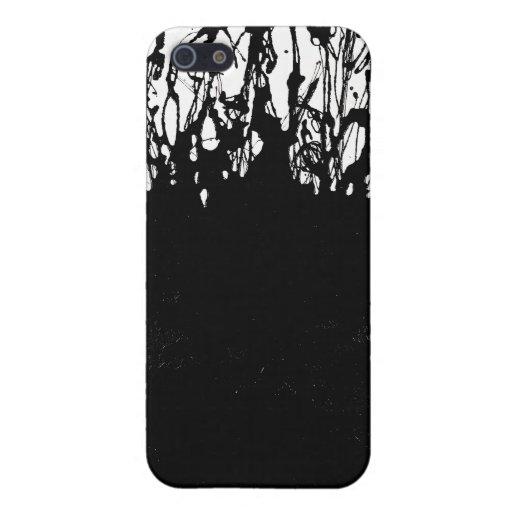 Del caso duro del iPhone 4/4S Shell de las cenizas iPhone 5 Cobertura