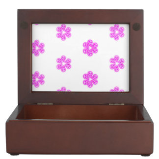 Del chicle de los cráneos caja rosada del recuerdo caja de recuerdos