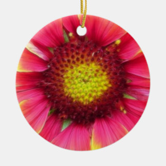 Del cierre floración de la flor combinada para arr ornamento para arbol de navidad