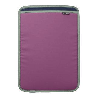 ~ del CIRUELO (color púrpura sólido) Fundas MacBook