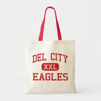 Del City - Eagles - alta - Del City Oklahoma Bolsa Tela Barata