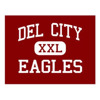 Del City - Eagles - alta - Del City Oklahoma Tarjetas Postales