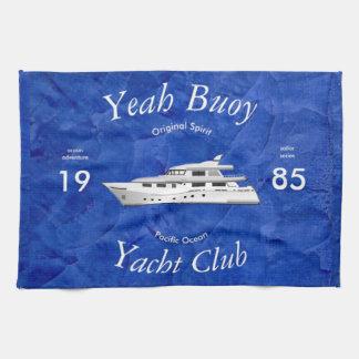 Del club náutico boya sí toalla