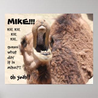 """¡Del """"conjetura divertida día de chepa"""" del camell Impresiones"""