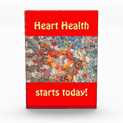 Del corazón de la salud del comienzo hojas de la p