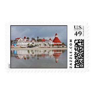 Del Coronado - Coronado California del hotel Sellos Postales