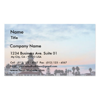 Del Coronado Sunset Business Cards