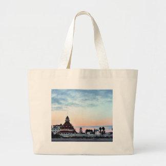 Del Coronado Sunset Jumbo Tote Bag