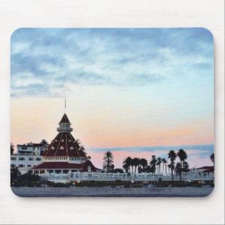 Del Coronado Sunset Mouse Pad