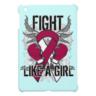 Del cuello del cáncer lucha principal ultra como u iPad mini fundas