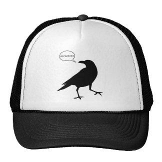 Del cuervo gorra nunca más