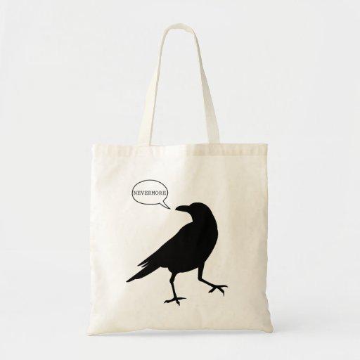 Del cuervo la bolsa de asas nunca más