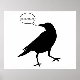 Del cuervo poster nunca más