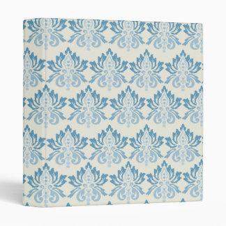"""Del damasco azul suavemente carpeta 1"""""""