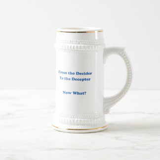 Del Decider al Decepter Tazas De Café