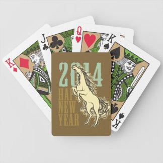 ) del (del caballo salvaje 2014 baraja de cartas bicycle