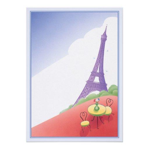 © del día de fiesta de París Anuncio