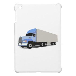 Del dibujo animado camión semi