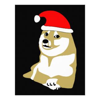 del dux guau del meme Navidad mismo tal gorra Membrete