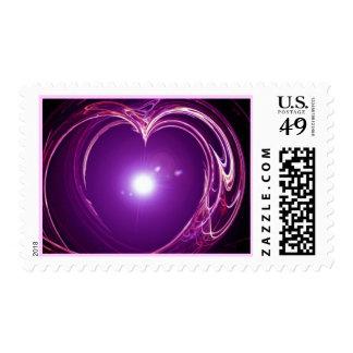"Del ""el esign eterno del arte fractal del amor"" sellos"